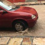 サンミゲルデアジェンデで雨に降られる…