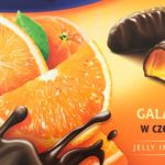 オレンジグミ入りチョコ