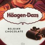 寒いけど…ハーゲンダッツ ベルギーチョコレート味