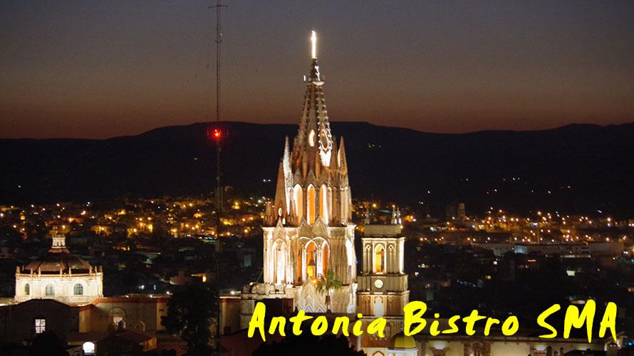 ルーフトップレストラン Antonia Bistro SMA