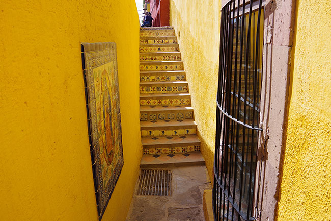 zumo前のかわいい階段