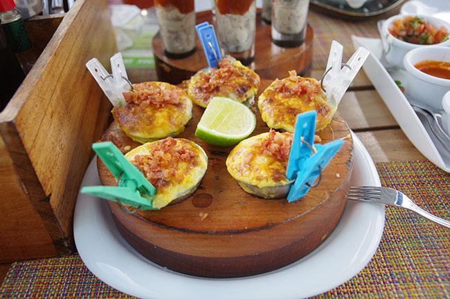 グラタン風牡蠣
