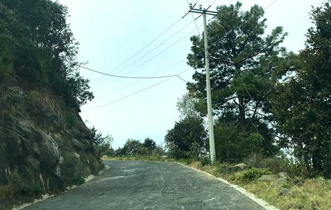 El Rosarioまでの道のり