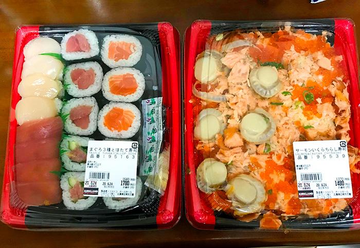 お寿司とちらし寿司